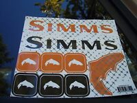 Simms Fishing Products Random Sticker Pack