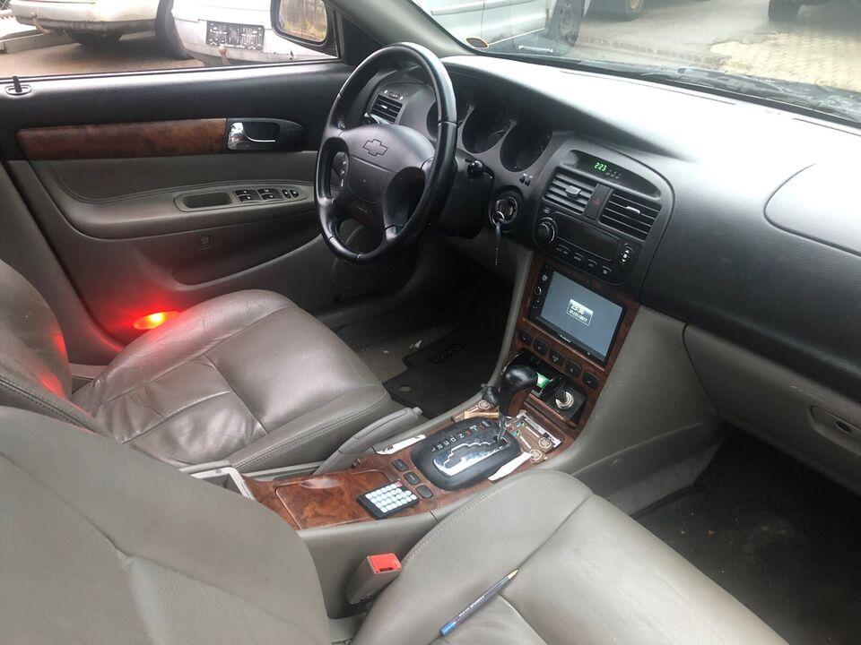Chevrolet Evanda, 2,0 CDX aut., Benzin