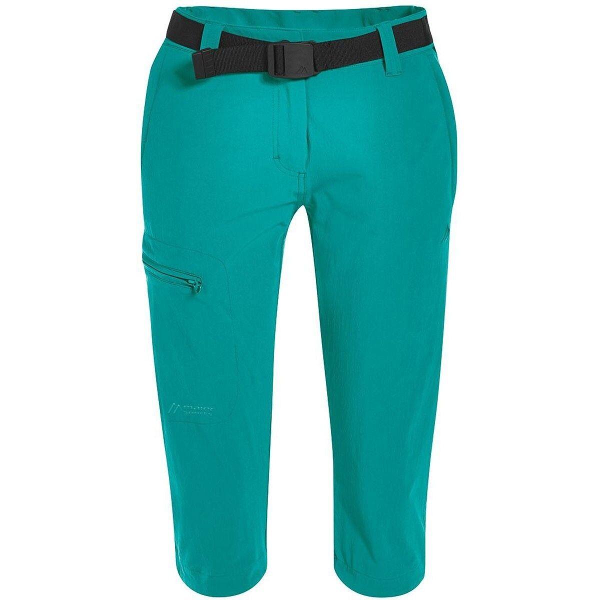 Maier Sports Inara Slim 3 4 DaMänner Wanderhose grün