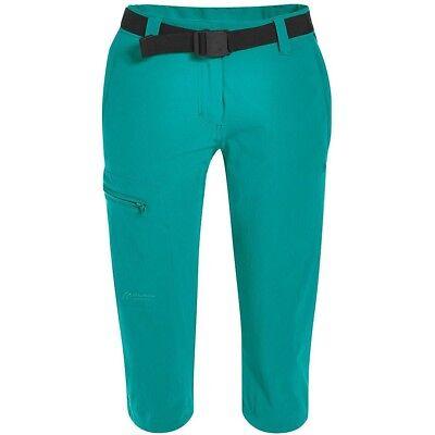 Maier Sports Inara Slim 3/4 Wanderhose Da Donna Verde- Superiore (In) Qualità