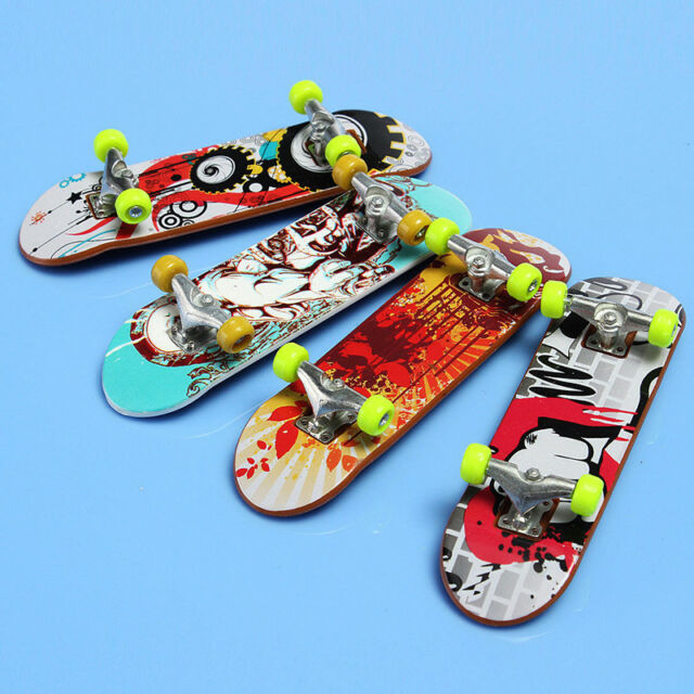 Cute Mini Finger Board Tech Deck Truck Skateboard Reduced Pressure Toy Gift 1pc