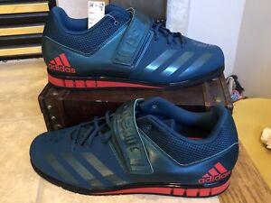 o Verde para hombres 1 de Adidas Ba8014 Powerlift de entrenamiento 3 pesas Zapatillas para Rojo 6 Tama levantamiento qtwqa68Ex