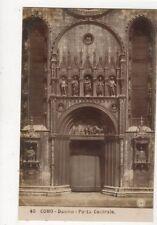 Como Duomo Porta Centrale Vintage RP Postcard Italy 523a