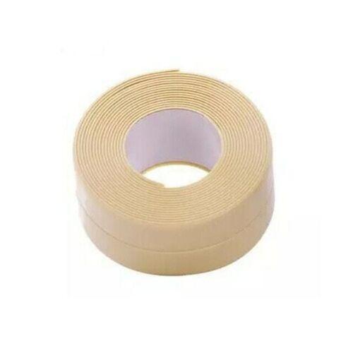 3.2mx38mm Bathroom Shower Sink Bath Sealing PVC Self Adhesive Waterproof Tape