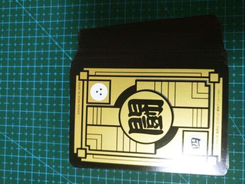 DRAGON BALL Z CARDDASS PART 37 FULL 36 piece REGULAR CARDS SET