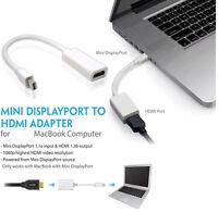 Thunderbolt DisplayPort Adapter For  Mac Macbook Pro Air HDMI Mini DP Cable