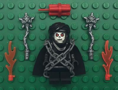 army trooper castle warlord soldier Lego Ghost Skeleton Warrior Minifig Lot