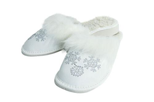 Hermosa Casa caliente de invierno de las Señoras Zapatillas Resbalón en Zapatos de interiores FOS223