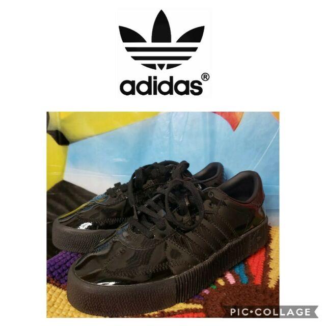 adidas sambarose all black