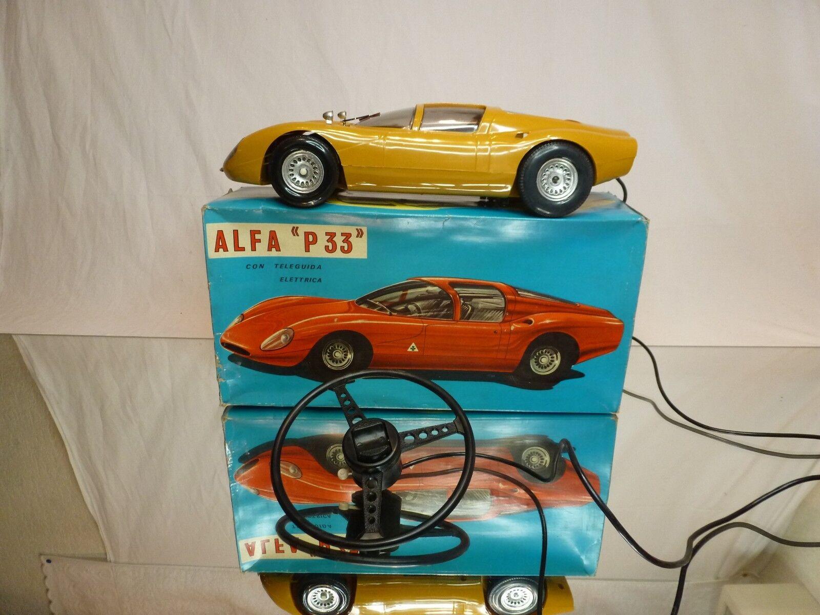 TIBIDABO 1972 ALFA ROMEO P33 - marron L33.0cm - GOOD CONDITION IN BOX