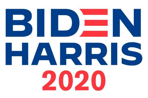 BIDEN HARRIS 2020 DEMOCRATIC Campaign Posters 4 POSTERS ALL DOUBLE SIDED!