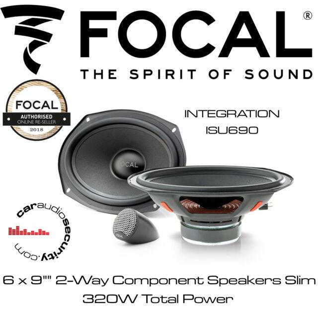 Audio Focal Integration 2-Way 6x9 Component Car Speakers
