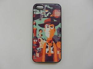 Disney-Toy-Story-Woody-Retro-Negro-Duro-posterior-Funda-Protectora-Para-Apple-Iphone-5-5s