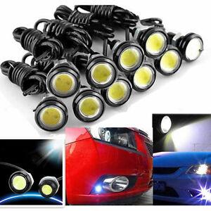 10x White DC12V 9W Eagle Eye LED Daytime Running DRL Backup Light Auto Lamp T