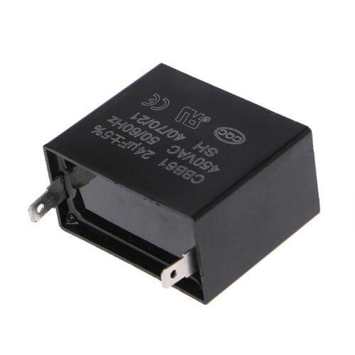 Capacitor 24uF 24MFD 450V AC CBB61 Fits 350//400//300//250VAC UL//RU Listed Brand