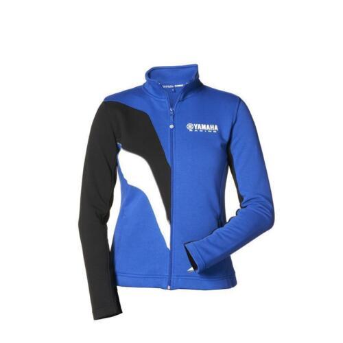 Genuine Yamaha 2017 Paddock Blue Zipped Sweater Ladies Jetski Racing MX Bike
