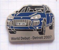 PORSCHE CAYENNE / WORLD DEBUT DETROID 2007..................... Auto-Pin (144a)