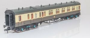 Bachmann-34-077-OO-Gauge-GWR-Collett-Brake-Composite-Coach-Chocolate-and-Cream