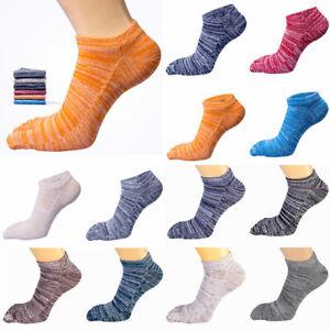 Men-Women-Socks-Cotton-Fingers-Breathable-Toe-Sock-Retro-Full-Color-Cotton-Socks