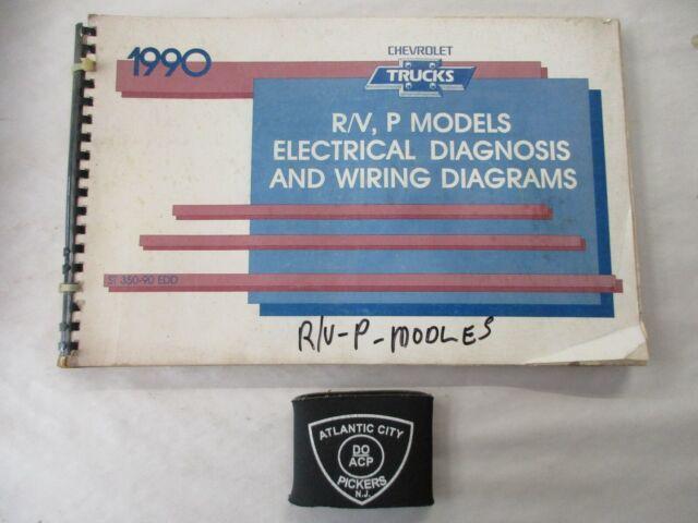 1990 Chevrolet R  V P Truck Models Electrical Diagnosis