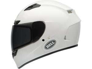 Helmet-Integral-Bell-Qualifier-Dlx-Solid-White-Choice-SIZE-XS-XXL