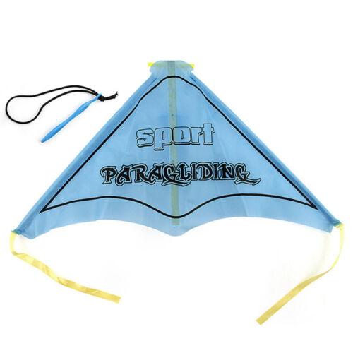 Funny Paragliding Flying Hang Glider Set Launch Catapult Slingshot Outdoor Toy