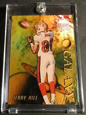 1998 JERRY RICE TOPPS STARS GALAXY #G3 GOLD RAINBOW SERIAL #2/5 FORTY NINERS