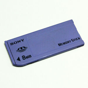 Sony-8MB-Memory-Stick-MS-Long-MS-8-MB-For-Sony-Old-Camera-Recorder-PSP