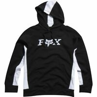 Fox Racing Men's Tj Hoodie Pullover Jumper Fleece Motocross Black White