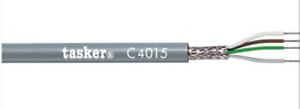 TASKER C4015 cavo schermato a treccia in rame stagnato 4 x 0,15