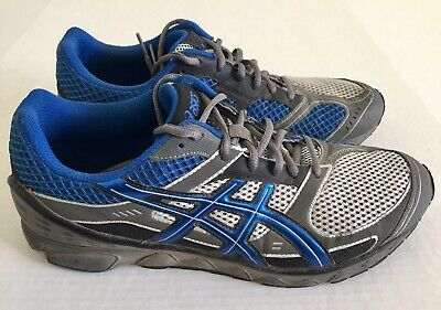 ASICS Gel Hikari Blue Grey Black Active Track Run Running Shoes Mens Sz 11 T131N | eBay