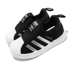 adidas-Originals-Superstar-360-I-Black-Silver-White-TD-Toddler-Infant-EE6281