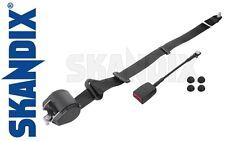 Safety belt front, black - all Volvo 122, P1800, PV544, 140, 164