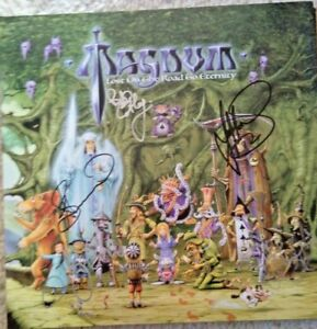 Magnum - Lost on the Road to Eternity  2 LP Purple Vinyl + CD NEU SIGNED NEW