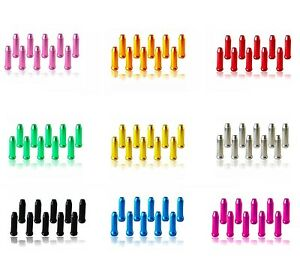10-x-ANODISED-COLOURED-ALLOY-BIKE-CYCLING-BRAKE-GEAR-INNER-CABLE-END-CAPS