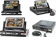 """DVR NVR 4 CH CANALI AHD WIFI COMBO CON SCHERMO LCD 7"""" VIDEOSORVEGLIANZA H.264"""