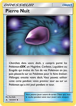 Pierre Nuit SL10-167//214 Reverse VF Français Pokemon