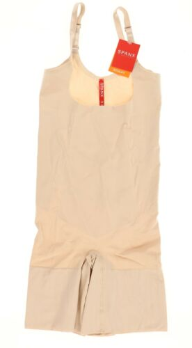 Details about  /SPANX 187569 Women/'s Oncore Open-Bust Mid-Thigh Bodysuit Soft Nude size 3X