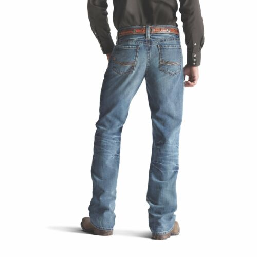 Ariat® Men/'s M4 Low Rise Relaxed Fit Scoundrel Boot Cut Jeans 10008403