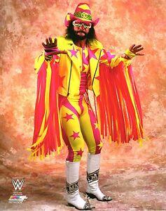 MACHO-MAN-RANDY-SAVAGE-WWE-PHOTO-WRESTLING-OFFICIAL-STUDIO-8x10-PROMO-WWF-WCW
