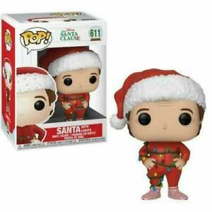 Funko POP The Santa Clause  SANTA with Lights  #611