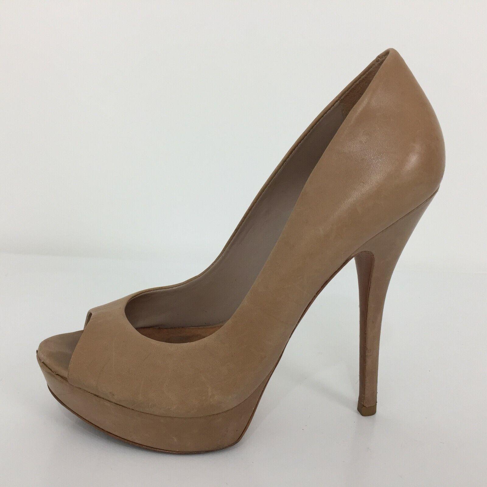 Aldo Brown Leather Stiletto Heel Women Size UK 6 Eur 39