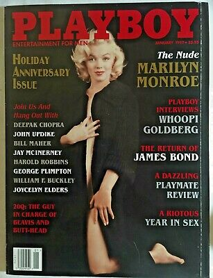 Playboy Magazine;January 1997;Featuring, The Nude Marilyn