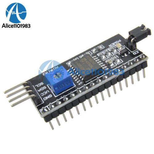 1//2//5//10PCS I2C IIC TWI SPI Serial Interface Board Module 1602LCD For Arduino
