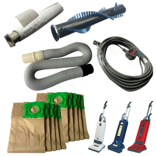 Hose Brush Bar Cable /& Dust Bags For Sebo Vacuum Cleaner X1 X4 X5 Filter Kit