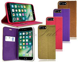 f r apple iphone 5 s 6s 7 plus neu modische leder klapp st nder h lle handyh lle ebay. Black Bedroom Furniture Sets. Home Design Ideas