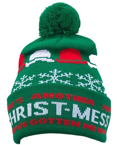 100% Vero Laurel E Hardy ( Stan & Ollie ) - Natale - Ufficiale Cappello Ponpon (berretto) Per Soddisfare La Convenienza Delle Persone