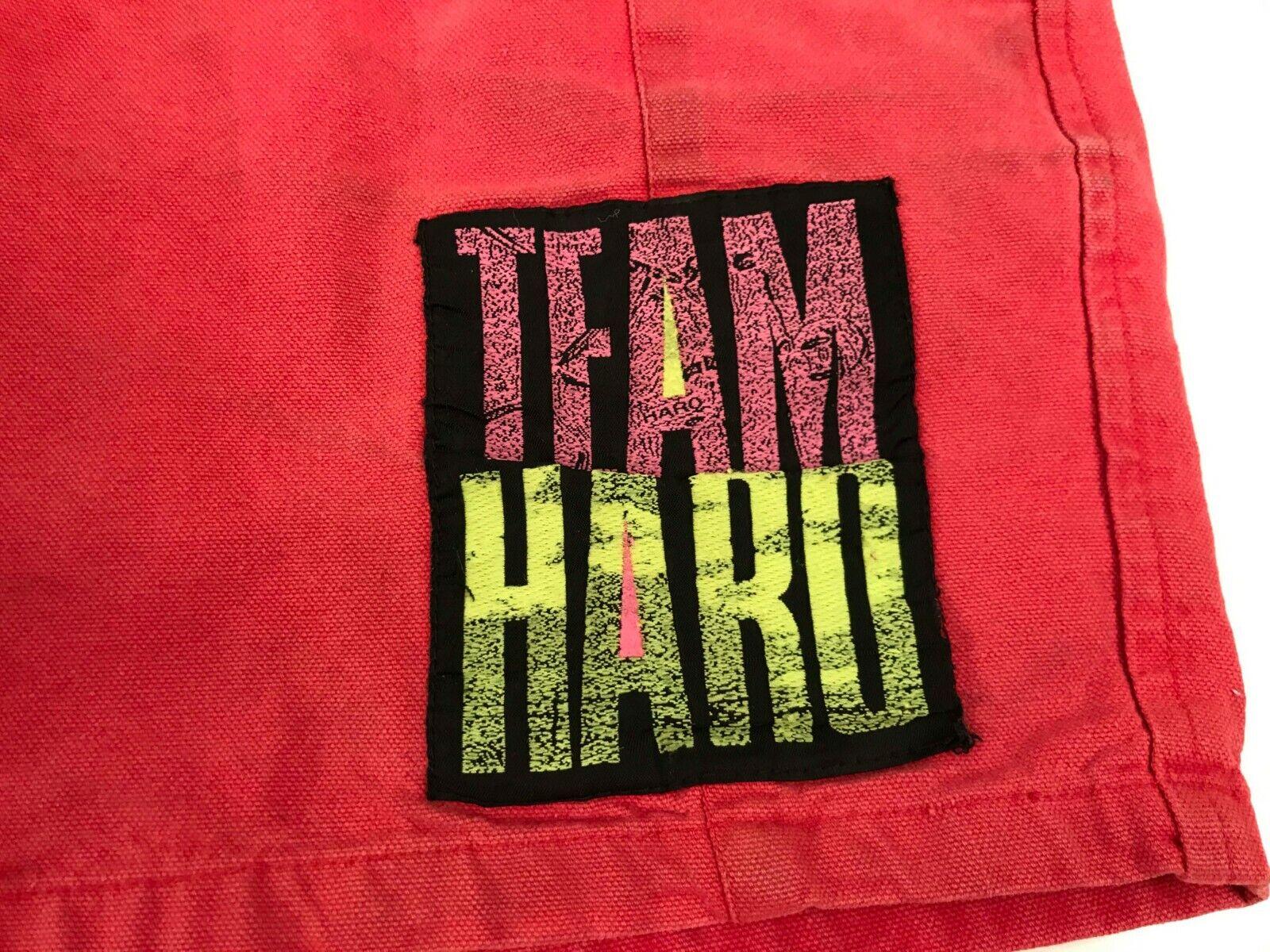 TEAM HARO Shorts Vintage BMX Freestyle GT Redline Ron Wilkerson Mat Hoffman