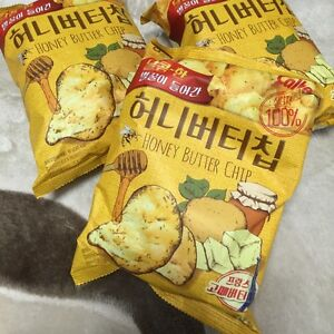 HaiTai-Honey-Butter-Chip-60g-5-Korean-Potato-Chips-5-bags-Special-Price