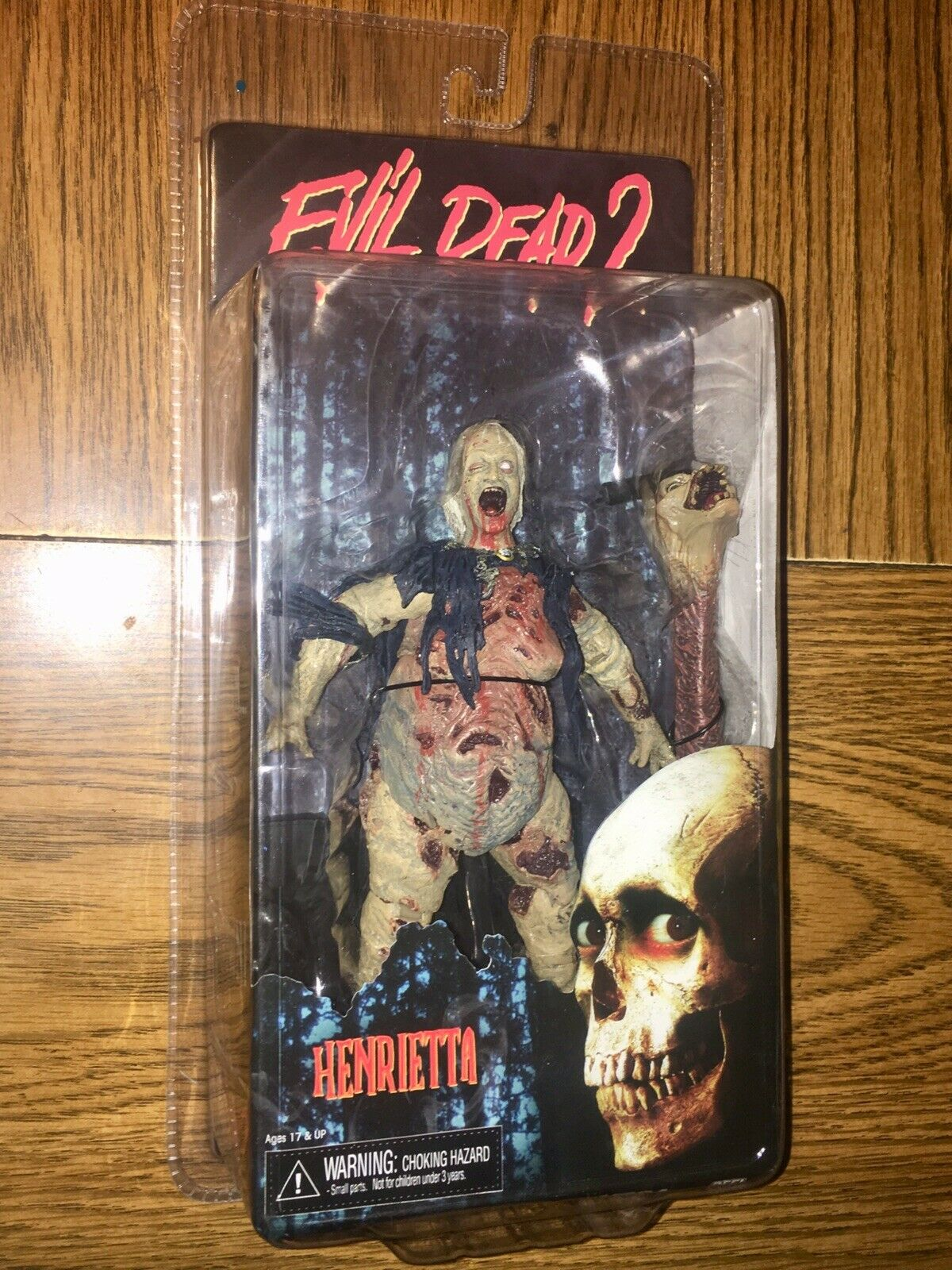 Evil Dead 2 2012 Bruce Campbell Henrietta giocattolo Army Army Army of Darkness Anniversary VHTF 9d98b7